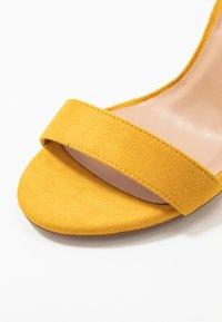 Anna Field - High heeled sandals - yellow - 2