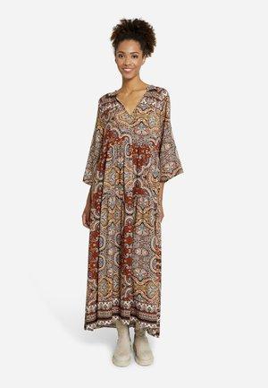 Gebreide jurk - camel