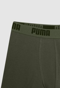 Puma - KIDS CAMO BOXER 2 PACK - Boxerky - army green - 3