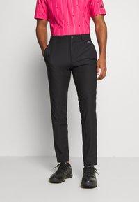 adidas Golf - ULTIMATE SPORTS GOLF PANTS - Kalhoty - black - 0