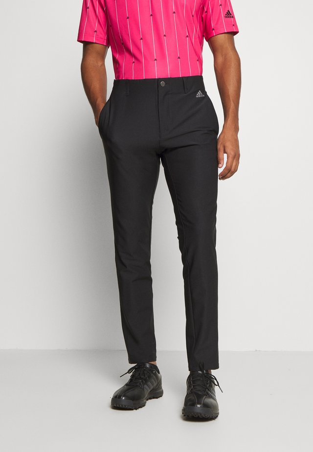 ULTIMATE SPORTS GOLF PANTS - Pantaloni - black
