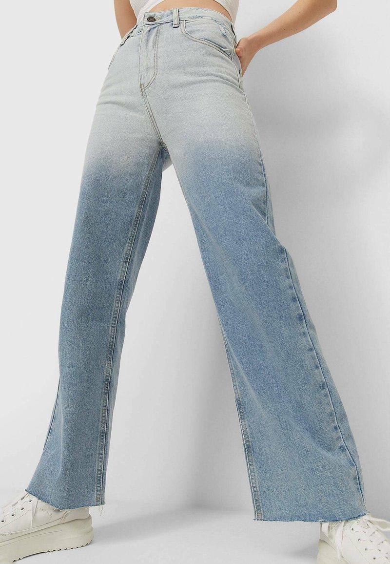 Stradivarius - Straight leg jeans - blue