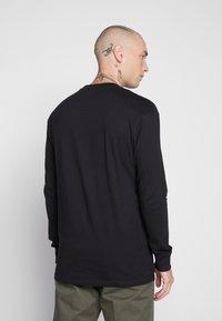 Common Kollectiv - UNISEX FLASH LONG SLEEVE - Bluzka z długim rękawem - black - 3