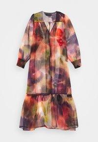 Karen by Simonsen - CELINA DRESS - Vestido camisero - dark red - 1