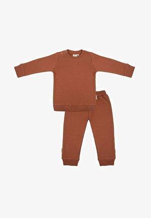 SET - Pyjama - amber brown