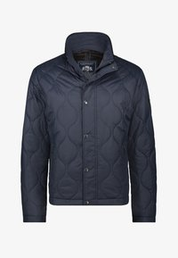 State of Art - Winter jacket - dark-blue plain - 0