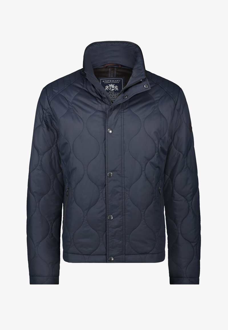 State of Art - Winter jacket - dark-blue plain