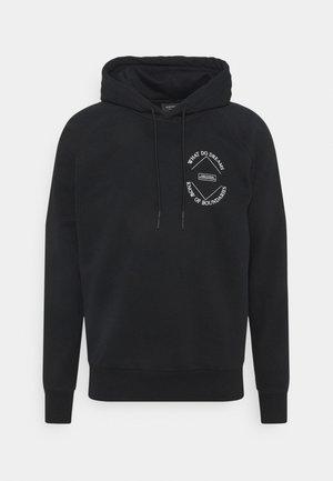 HOODIE WITH 'AMELIA' ARTWORK UNISEX  - Sweatshirt - black