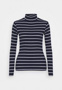 Jumper - dark blue, white