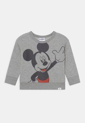 DISNEY DONALD DUCK CREW - Sweatshirt - light heather grey