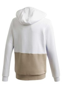 adidas Originals - LARGE TREFOIL HOODIE - Jersey con capucha - white - 3
