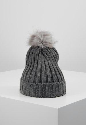 OBJASTRID BEANIE - Mütze - medium grey melange