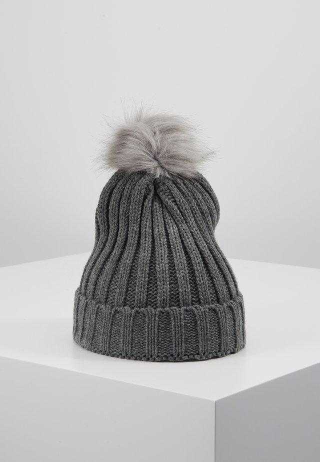 OBJASTRID BEANIE - Beanie - medium grey melange