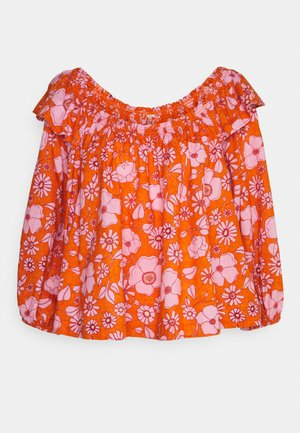 MISS DAISY PRINTED - Long sleeved top - heat wave combo