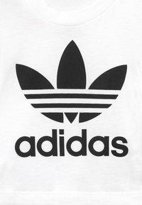 adidas Originals - TEE SET - Shortsit - white/black - 4