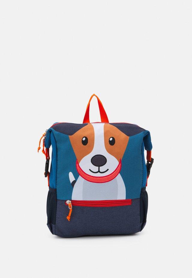RECYCLED BACKPACK DOG UNISEX - Rucksack - navy blue