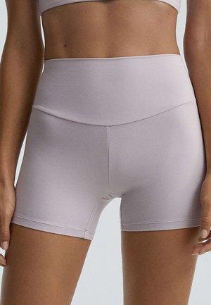 COMFORTLUX HOT PANTS - Tights - mauve