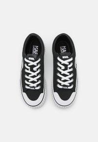KARL LAGERFELD - KAMPUS II IKONIC LACE - Sneakers - black - 4