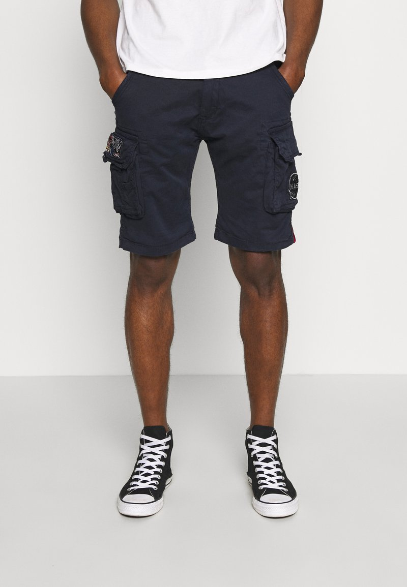 Alpha Industries - Shorts - blue
