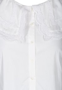 Zizzi - Button-down blouse - white - 5