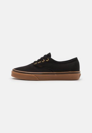 AUTHENTIC UNISEX - Sneakersy niskie - black
