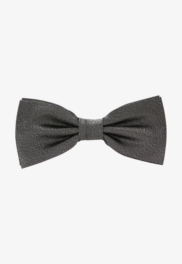 Bow tie - silver