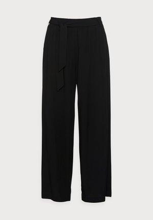 PANTS WOVEN - Kalhoty - black