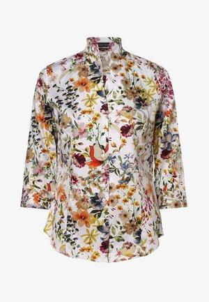 Button-down blouse - weiß mehrfarbig
