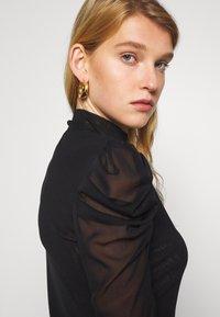 Diane von Furstenberg - NEW REMY - Long sleeved top - black - 3
