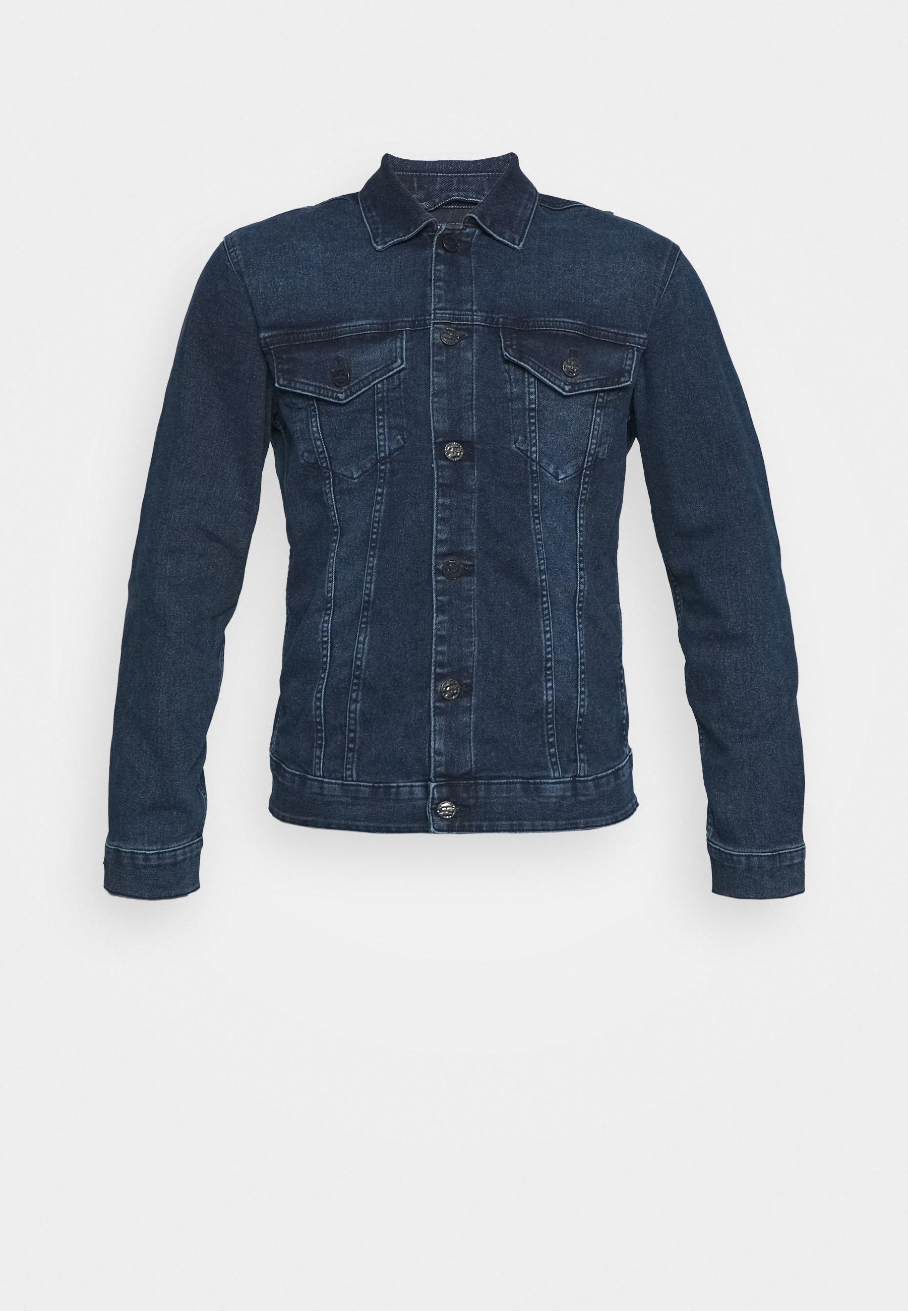 Uomo ONSCOME LIFE TRUCKERD  - Giacca di jeans
