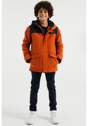 Winter coat - orange