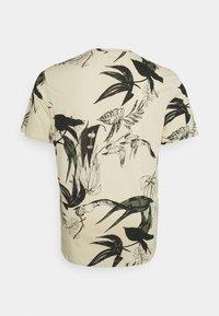Jack & Jones - JORMONET TEE CREW NECK - Print T-shirt - oatmeal - 1