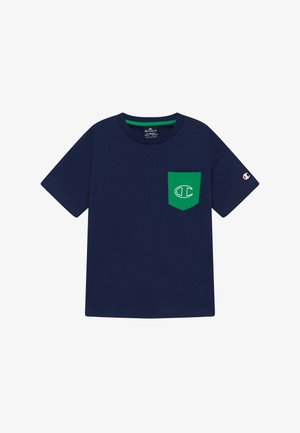 LEGACY 90'S BLOCK CREWNECK - T-shirts med print - green