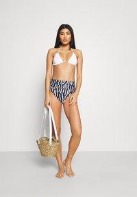 JETS Australia - EDEN ROC FOLD DOWN PANT - Bikini bottoms - deep navy/white - 1