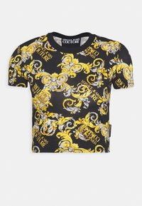 Versace Jeans Couture - T-shirt z nadrukiem - nero - 4
