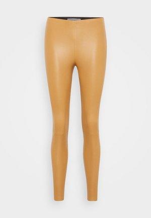 LENA - Leggings - Trousers - camel