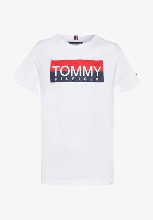REFLECTIVE TEE  - Print T-shirt - white