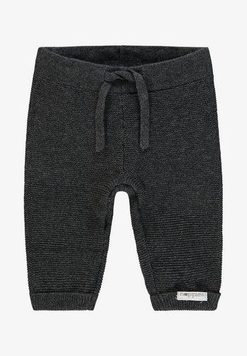 LUX - Trousers - dark grey melange
