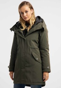 DreiMaster - Winter coat -  olive - 0