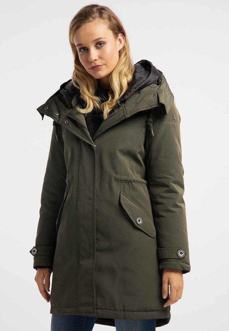 DreiMaster - Winter coat -  olive
