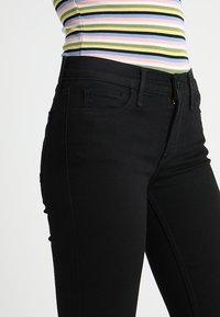 Levi's® - 710 SUPER SKINNY - Jeans Skinny - black galaxy - 3