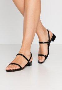 ALDO - CANDIDLY - Sandals - black - 0