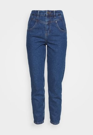 SEAMED MOM - Relaxed fit jeans - blue