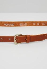 Vanzetti - Belt - cognac - 4