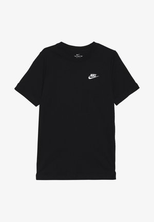 TEE FUTURA - Basic T-shirt - black/white