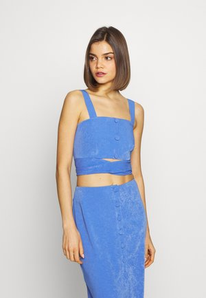 RENEE TOP - Top - blue