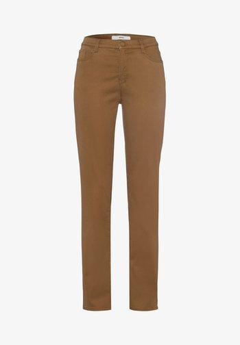 STYLE CAROLA - Pantalon classique - walnut