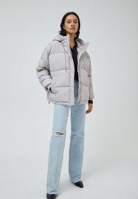 PULL&BEAR - Down jacket - grey - 1