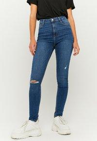 TALLY WEiJL - Jeans Skinny Fit - dark blue - 0