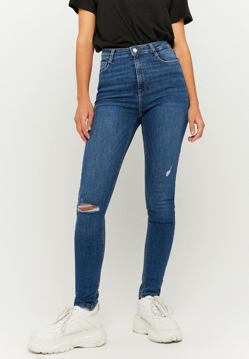 TALLY WEiJL - Jeans Skinny Fit - dark blue